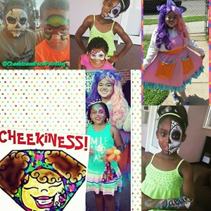 District of Columbia Face Painter | CHEEKINESS Face Painting