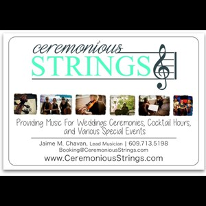 New Jersey Classical Trio | Jersey Shore- Ceremonious Strings