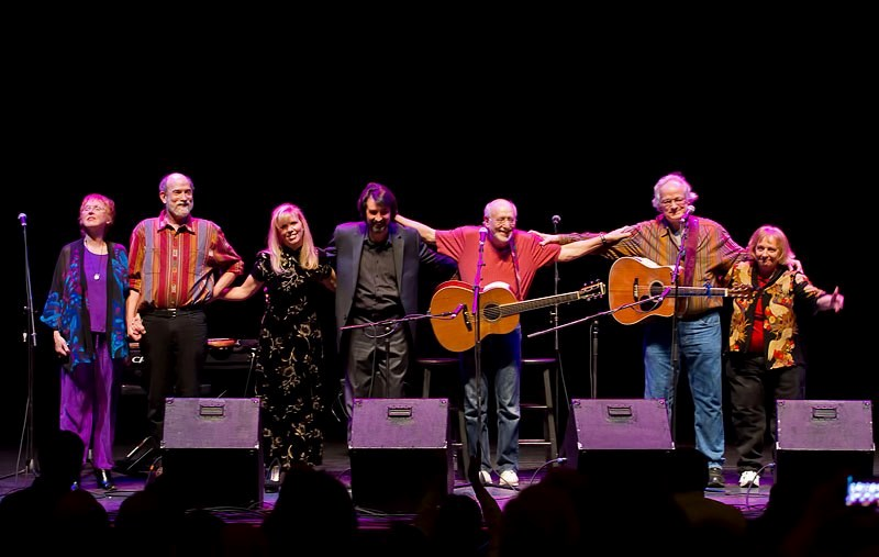 Performing with Peter Yarrow