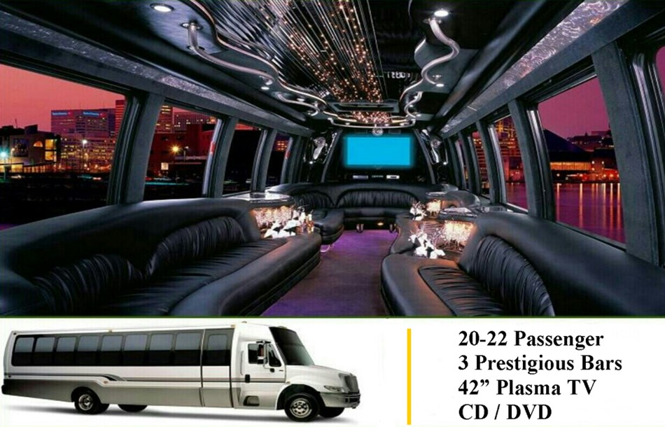 New Addition - Luxury Limo Coach