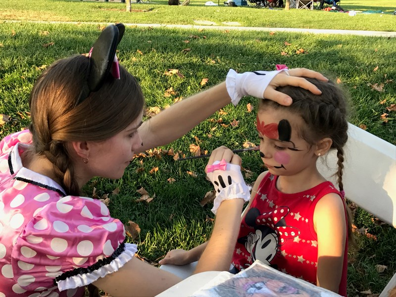 Tatiana - Face Painter - Sacramento, CA