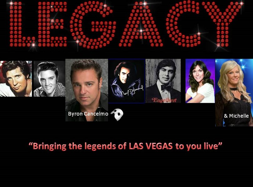 LEGACY bringing Vegas to you! - Tribute Singer - West Bloomfield, MI