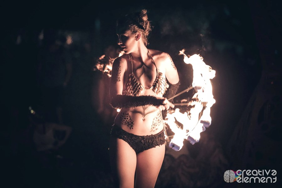 Journey Lumiere - Fire Dancer - Austin, TX