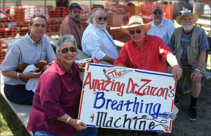 The Amazing Dr. Zarcon's Breathing Machine - Acoustic Band - Mountain View, CA