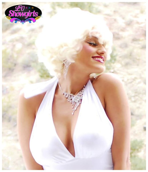 LV_Showgirls - Marilyn Monroe Impersonator - Las Vegas, NV