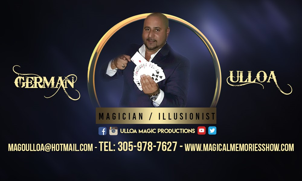 Ulloa Magic Production-Magical Memories Show - Magician - Homestead, FL