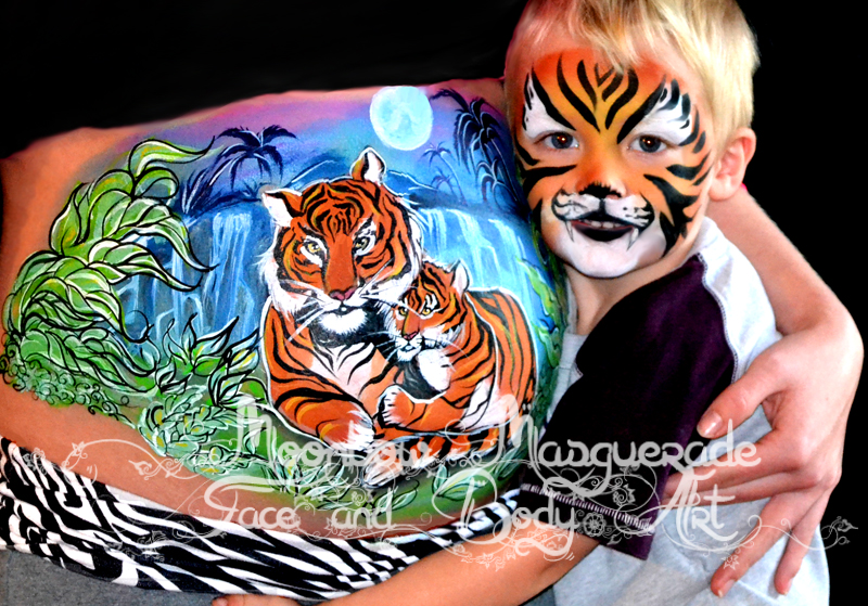 Moonbow Masquerade Face & Body Art - Face Painter - Corbin, KY