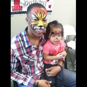 North Carolina Face Painter | Cristal Clear Face Painting