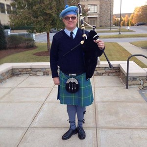 South Carolina Bagpiper | Jamie Hamilton