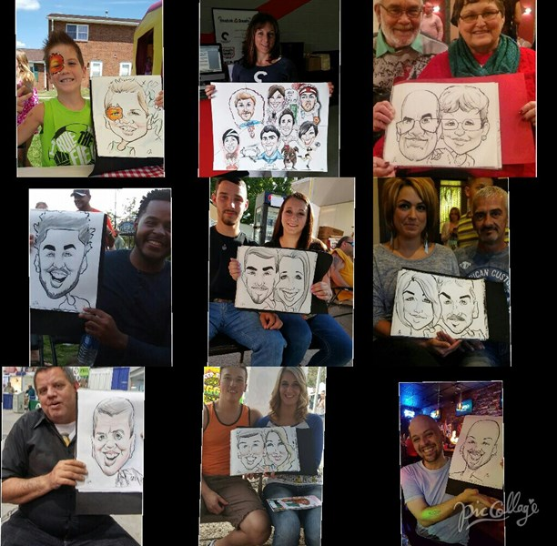 Dishi Art & Caricature - Caricaturist - Columbus, OH