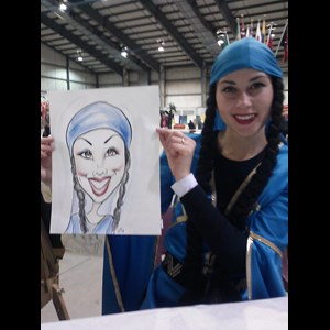 Lincoln City Caricaturist | Dishi Art & Caricature