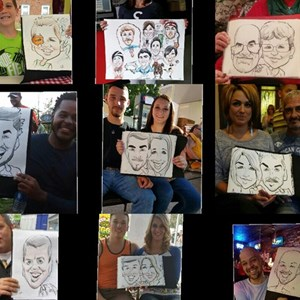 Charleston Caricaturist | Dishi Art & Caricature