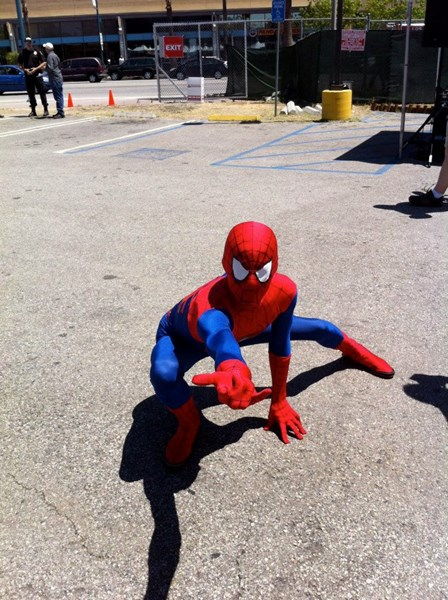 TheAmazingSpiderMan - Costumed Character - Van Nuys, CA