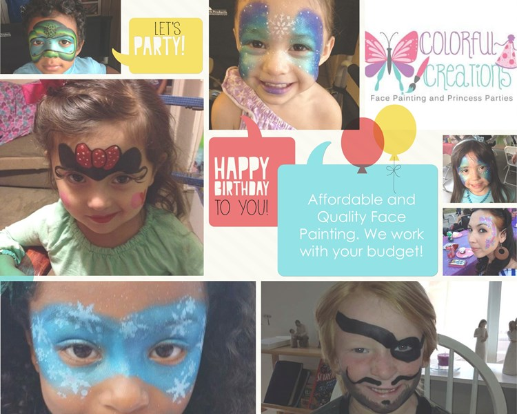 Colorful Creations - Face Painter - Bakersfield, CA