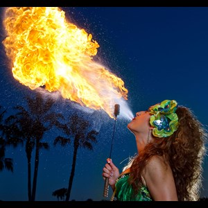 St Petersburg Fire Eater | AmoraFire Productions