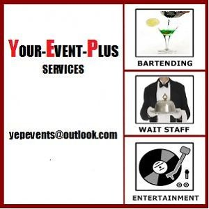 YOUR-EVENT-PLUS - Bartender - Markham, ON