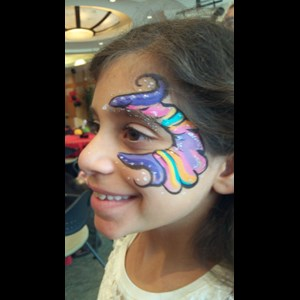 Canyon Country Face Painter | SILVER STARDUST FACE PAINTING !