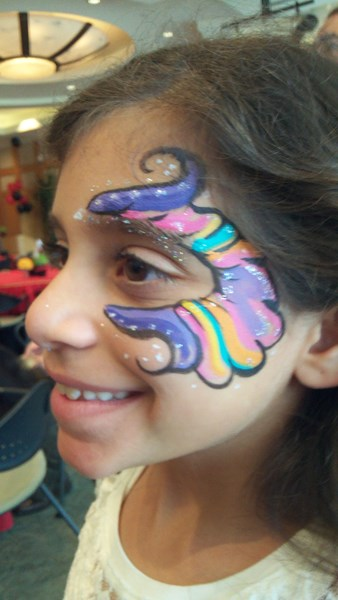 SILVER STARDUST FACE PAINTING ! - Face Painter - Los Angeles, CA