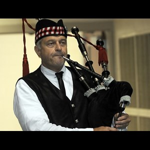 Greenville Bagpiper | Art Davis