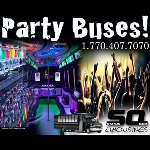 Conyers Party Bus | SQ Limos and Party Buses