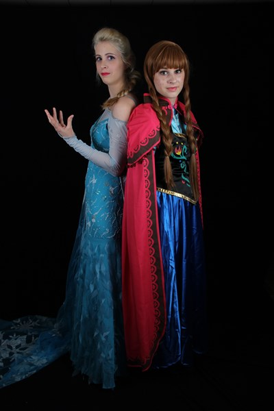 Freeze sisters - Princess Party - Selden, NY