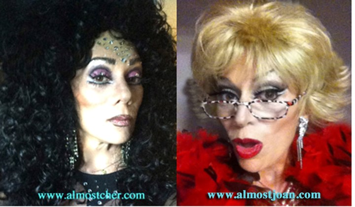 Cher Impersonator - Helene Masiko Is (almost) Cher