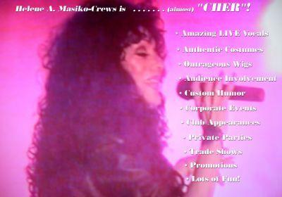 Cher Impersonator - Helene Masiko Is (almost) Cher | Woodbury, NJ | Cher Impersonator | Photo #4