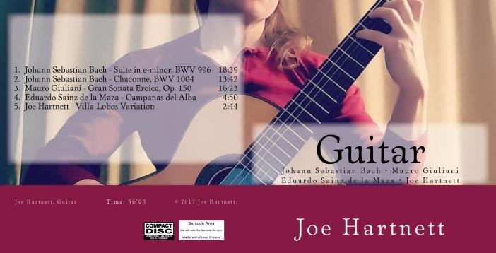 My Solo Guitar CD.