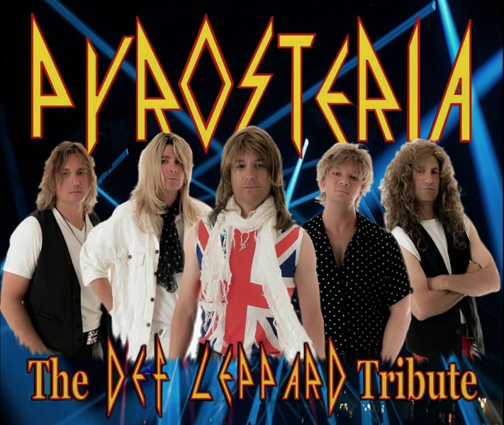 PYROSTERIA - The DEF LEPPARD Tribute - Def Leppard Tribute Band - Phoenix, AZ