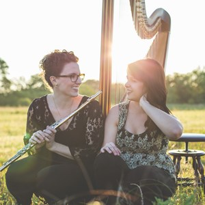 Energy Folk Duo | Zephyr Strand Flute and Harp Duo