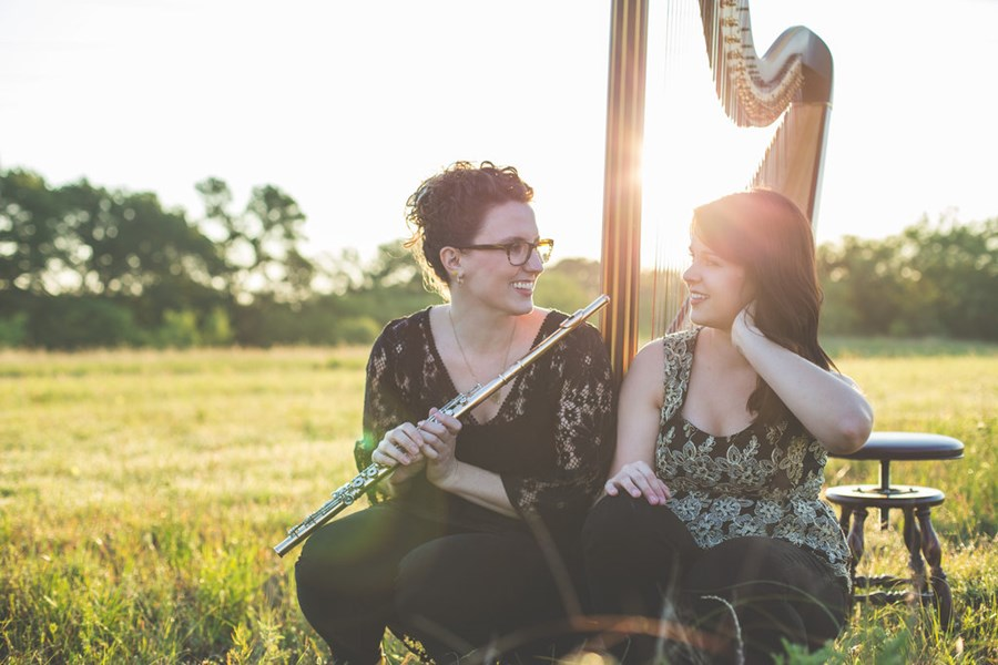 Zephyr Strand Flute and Harp Duo - Classical Duo - Denton, TX