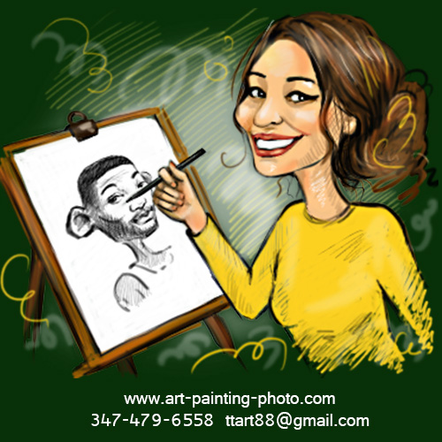 Caricatures & Cartoons by Tanya - Caricaturist - Jersey City, NJ