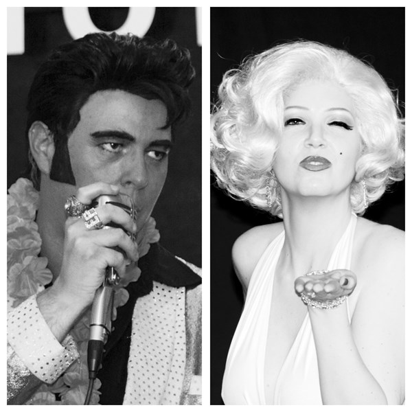 #1 Elvis and Marilyn             - Elvis Impersonator - Las Vegas, NV