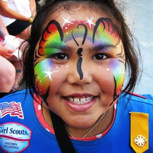 Oklahoma City Face Painter | Kaleidoscope Arts