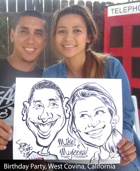 Caricatures! by Sean Platt - Caricaturist - Diamond Bar, CA