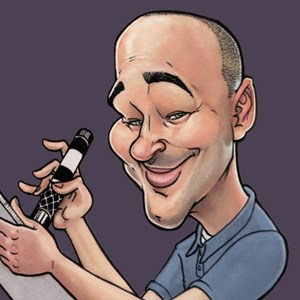 Iron Caricaturist | The Funny Drawing Guy
