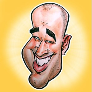 Baraboo, WI Caricaturist | The Funny Drawing Guy