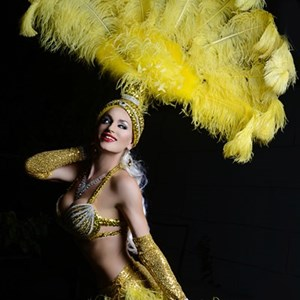 Showgirls in Las Vegas