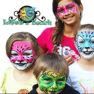 Pennsboro Face Painter | Life's A Beach