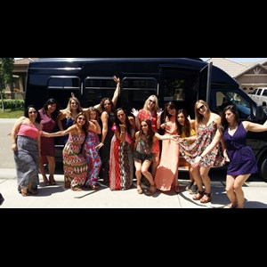 Santa Rita Park Wedding Limo | Preferred Image Limousine