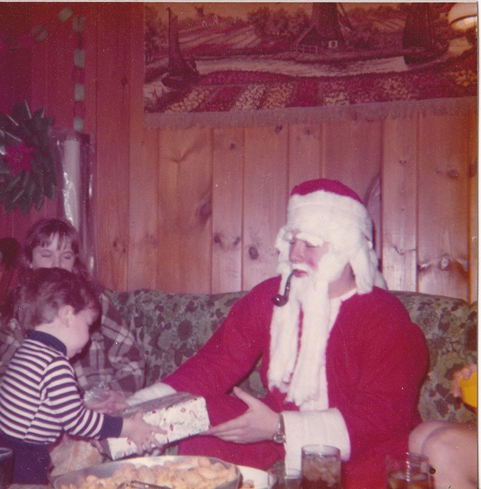 Santa 1971 My First Suit