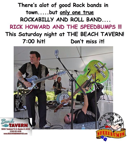 Premier vintage rockabilly group Speedbumps - Rockabilly Band - Naples, FL