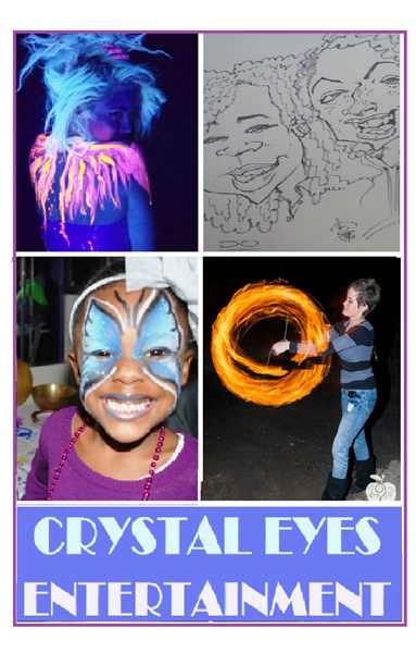 Crystal Eyes Entertainment - Face Painter - Decatur, GA