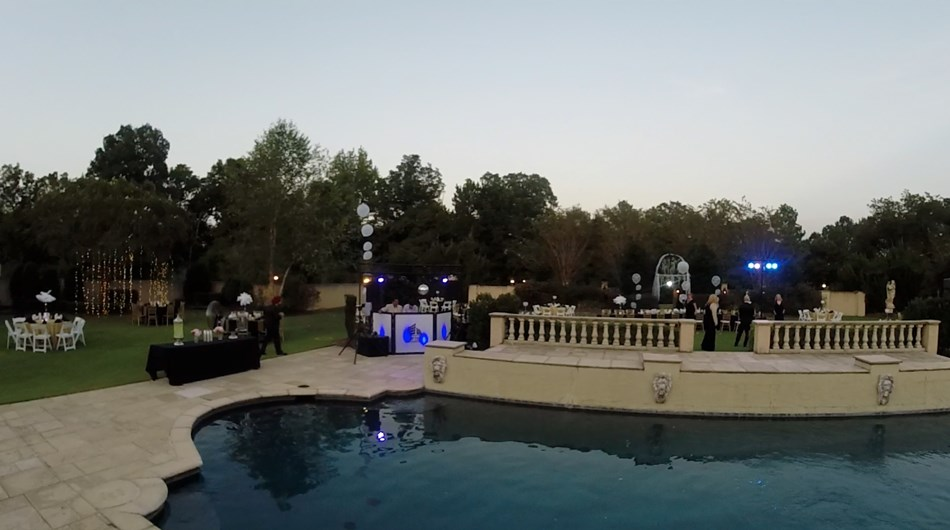 Upscale DJ and event lighting