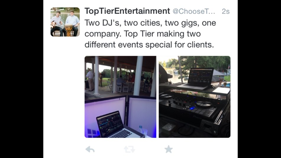 Follow us on Twitter @choosetoptier