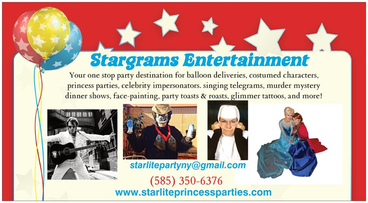 Stargrams Entertainment  - Princess Party - Penfield, NY