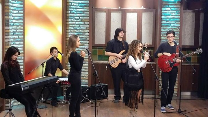 Performing on Rogers TV Toronto.