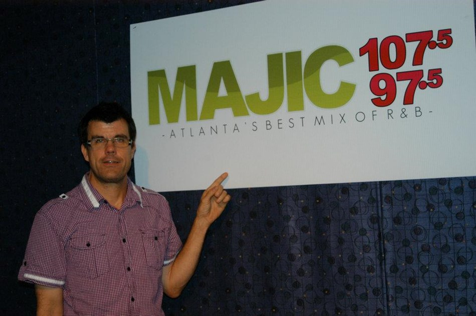 me @ the magic studio in Atlanta