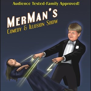 Chesapeake Face Painter | MerMan's Comedy and Illusion Shows