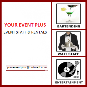 YOUR-EVENT-PLUS - Bartender - Oshawa, ON